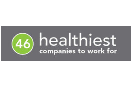 46 healthiest company to work for logo