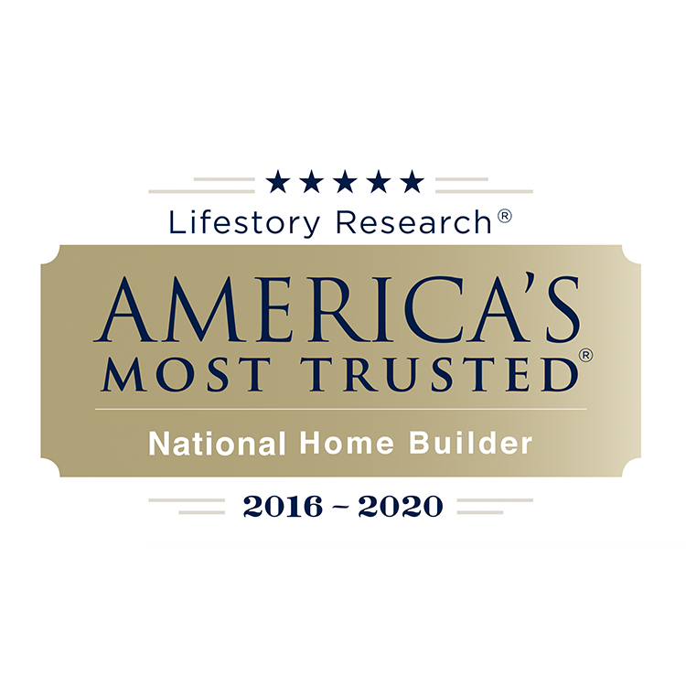 America's Most Trusted Builder Award