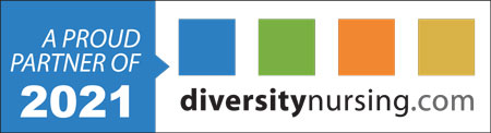 Diversity in nursing logo